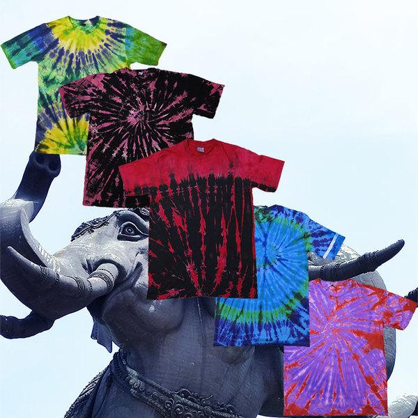 エスニックファッション♪ タイダイTシャツ!