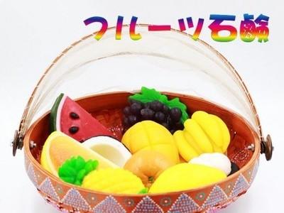 フルーツ石鹸