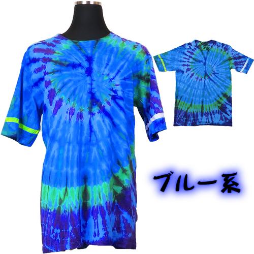 コットンさらっさらタイダイTシャツ (L)
