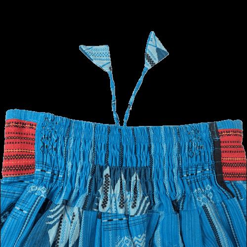 モン族スリット変形型 サルエルパンツ