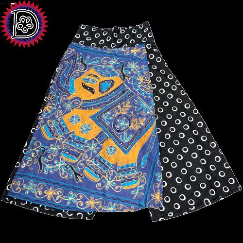 象さん オーバースカート パンツ