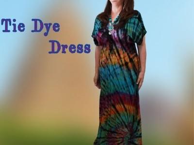 タイダイ ワンピースドレス